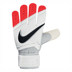 Nike Classic Soccer Goalkeeper Glove (White/Total Crimson)