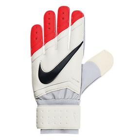 Nike GK Spyne Pro Soccer Goalkeeper Glove (White/Crimson)