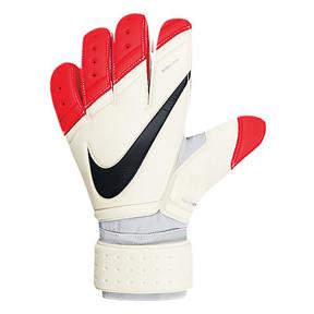 Nike GK Premier SGT Soccer Goalkeeper Glove (White/Crimson)