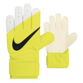 Nike Youth Grip Soccer Goalkeeper Glove (Volt/White)