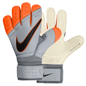 Nike  GK Premier SGT Soccer Goalkeeper Glove (Wolf Grey/Orange)