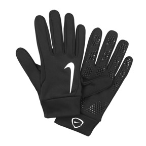 Nike Youth HyperWarm Field Players Gloves (Black)