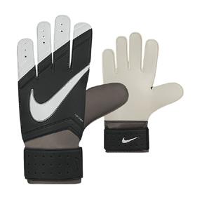 Nike Youth Match Soccer Goalkeeper Glove (Black/White)