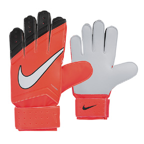 Nike Youth Match Soccer Goalkeeper Glove (Bright Crimson)