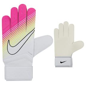 Nike Match Soccer Goalkeeper Glove (White/Pink)