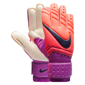 Nike  GK Spyne Pro  Soccer Goalkeeper Glove (Crimson/Purple)