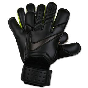 Nike  GK Vapor Grip3  Soccer Goalkeeper Glove (Black/Black)
