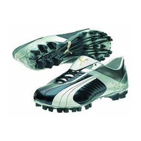Puma Cellerator Zero FG Soccer Shoes (Blue/Grey)