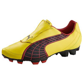 Puma v3.10 FG Soccer Shoes (Yellow)
