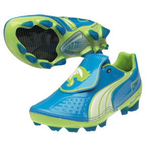 Puma Youth v1.11 FG Soccer Shoes (Dresden Blue)