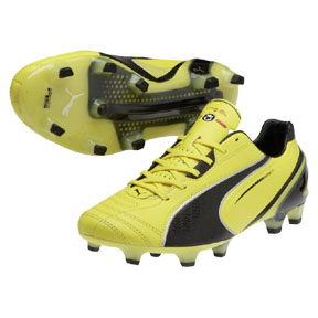 Puma  King SuperLite SL FG Soccer Shoes (Blazing Yellow)