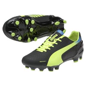 Puma evoSpeed 3.2 FG Soccer Shoes (Black)
