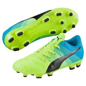 Puma Youth  evoPower 4.3 FG Soccer Shoes (Safety Yellow)