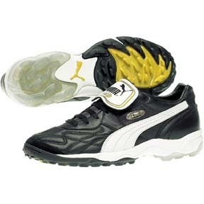 Puma  King Allround Turf Soccer Shoes (Black/White)