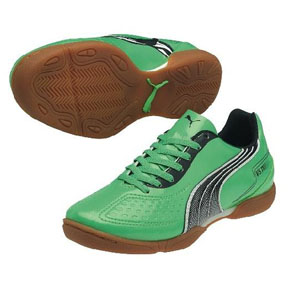 Puma Youth v5.11 IT Indoor Soccer Shoes (Green)