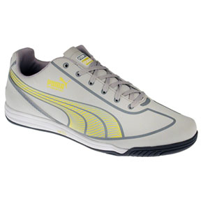 Puma Womens Speed Star Indoor Soccer Shoes (Light Grey)