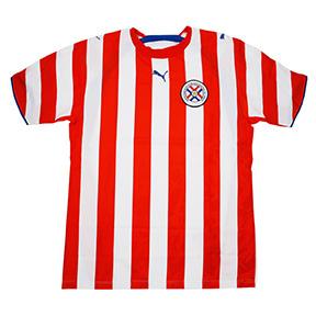 Puma Paraguay Soccer Jersey (Home 2006)