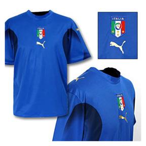 Puma Italy Soccer Jersey (Home 2007/08)
