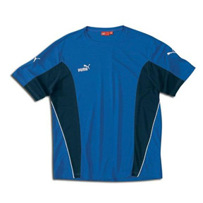 Puma Veneno Soccer Training Jersey (Royal/Navy/White)