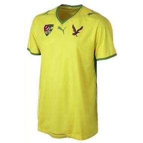 Puma Togo Soccer Jersey (Home 2008/09)