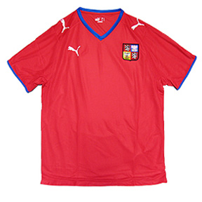 Puma Czech Republic Soccer Jersey (Home 2008/09)