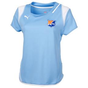Puma Womens Sky Blue FC Soccer Jersey (Home 2009/10)