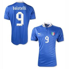 Puma Italy Balotelli #9 Soccer Jersey (Home 2012/13)