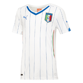 Puma Youth Italy World Cup 2014 Soccer Jersey (Away)