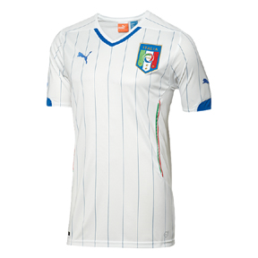 Puma Italy  World Cup 2014 Soccer Jersey (Away)