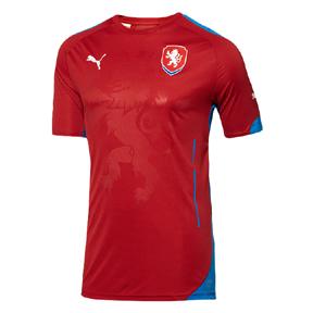 Puma Czech Republic World Cup 2014 Soccer Jersey (Home)