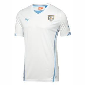 Puma Uruguay Soccer Jersey (Away 2014/16)