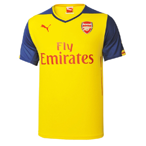 Puma Arsenal Soccer Jersey (Away 2014/15)