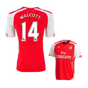 Puma Youth Arsenal Walcott #14 Soccer Jersey (Home 2014/15)