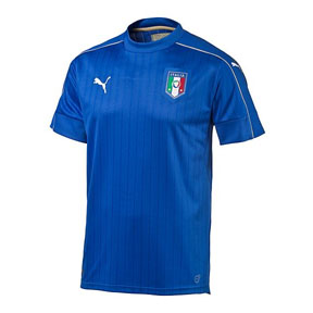 Puma Youth  Italy  Soccer Jersey (Home 2016/17)