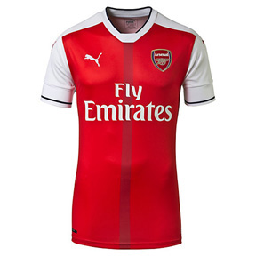 Puma Youth  Arsenal Soccer Jersey (Home 2016/17)