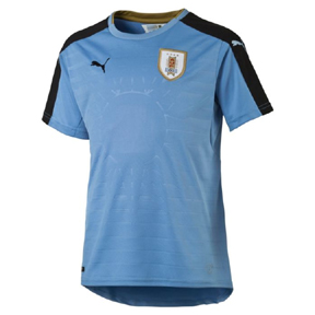 Puma Youth  Uruguay  Soccer Jersey (Home 2016/17)