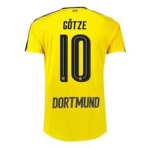 Puma Youth  Borussia Dortmund Gotze #10 Jersey (Home 2016/17)