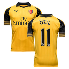 Puma  Arsenal  Ozil #11 Soccer Jersey (Away 2016/17)