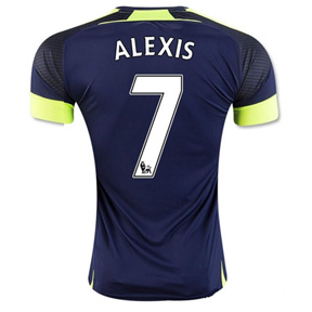 Puma Youth  Arsenal  Alexis #7 Soccer Jersey (Alternate 2016/17)