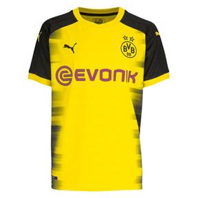 Puma   Borussia Dortmund  UCL Soccer Jersey (Home 17/18)