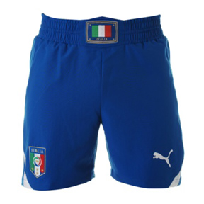 Puma Italy World Cup 2010 Soccer Short (Home 2010/11)