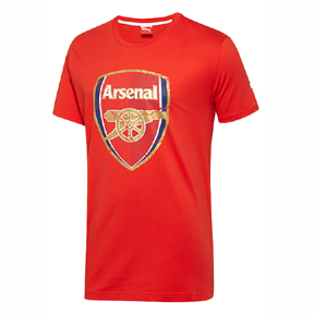Puma Arsenal Fan Soccer Tee (Red)