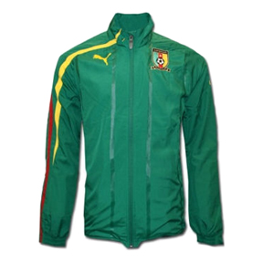 Puma Cameroon World Cup 2010 Walk Out Soccer Training Jacket