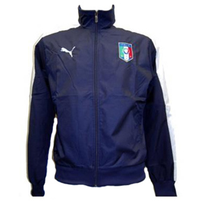 Puma  Italy T7 Walk Out Soccer Training Jacket
