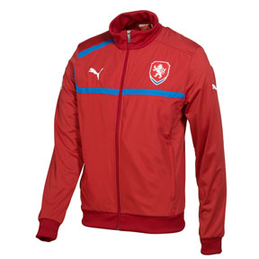Puma  Czech Republic Walk Out Soccer Training Jacket