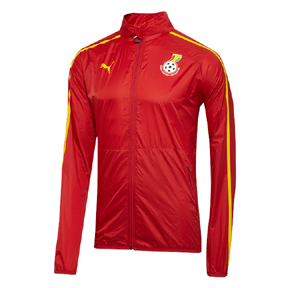 Puma Ghana World Cup 2014 Walk Out Soccer Training Jacket