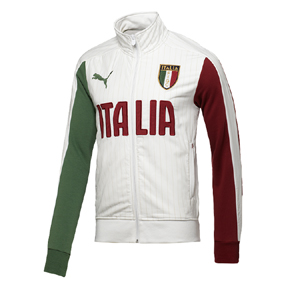 Puma Italy World Cup 2014 T7 Soccer Training Jacket (White)