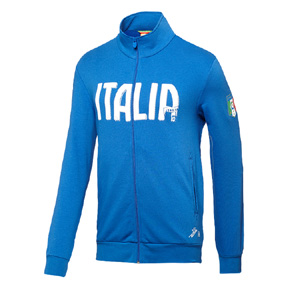 Puma Italy  World Cup 2014 T7 Soccer Training Jacket (Royal Blue)