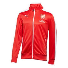 Puma Arsenal T7 Anthem Soccer Training Track Top (2014/15)