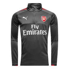 Puma  Arsenal  1/4-Zip Training Track Top (Dark Shadow)